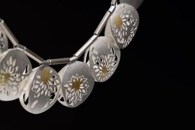 【Mie Miyakawa】Kiku reversible necklace / キク・リバーシブル・ネックレス