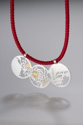 【Mie Miyakawa】Wagara necklace / 和柄ネックレス