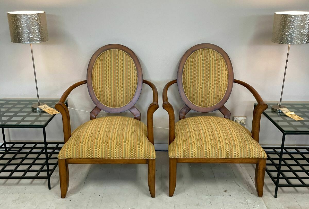 Centra Occasional Chair (pair) - in Bassano Cherry