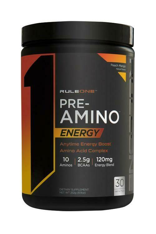 Rule 1Pre Amino  Peach Mango