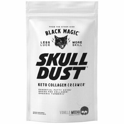 Black Magic Skull Dust  Vanilla Mocha