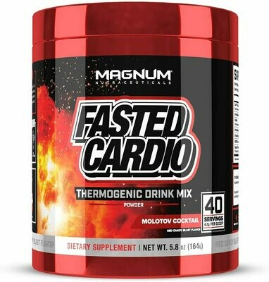 Magnum Fasted Cardio Red
