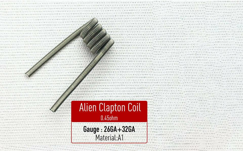 Alien Clapton Coil Hazır Sarılı Tel
