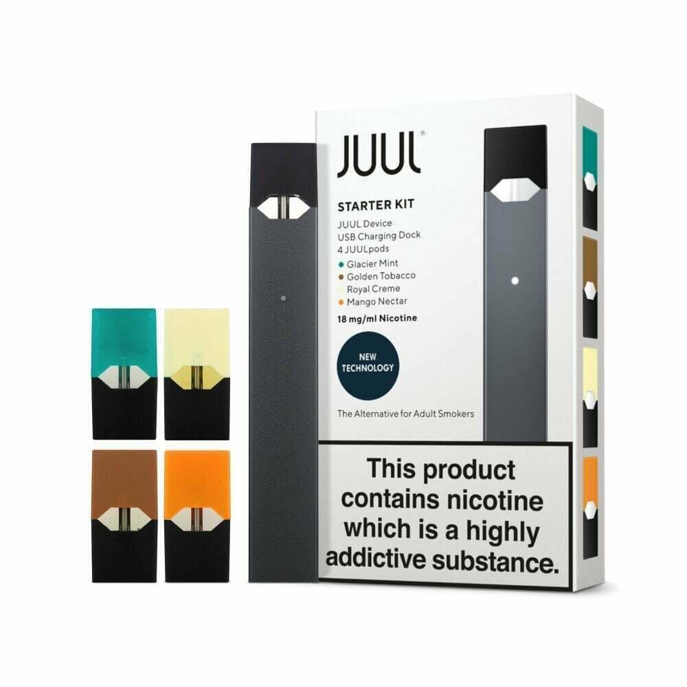 JUUL Pod Mod Starter Kit UK 4 Kartuşlu (18 MG)