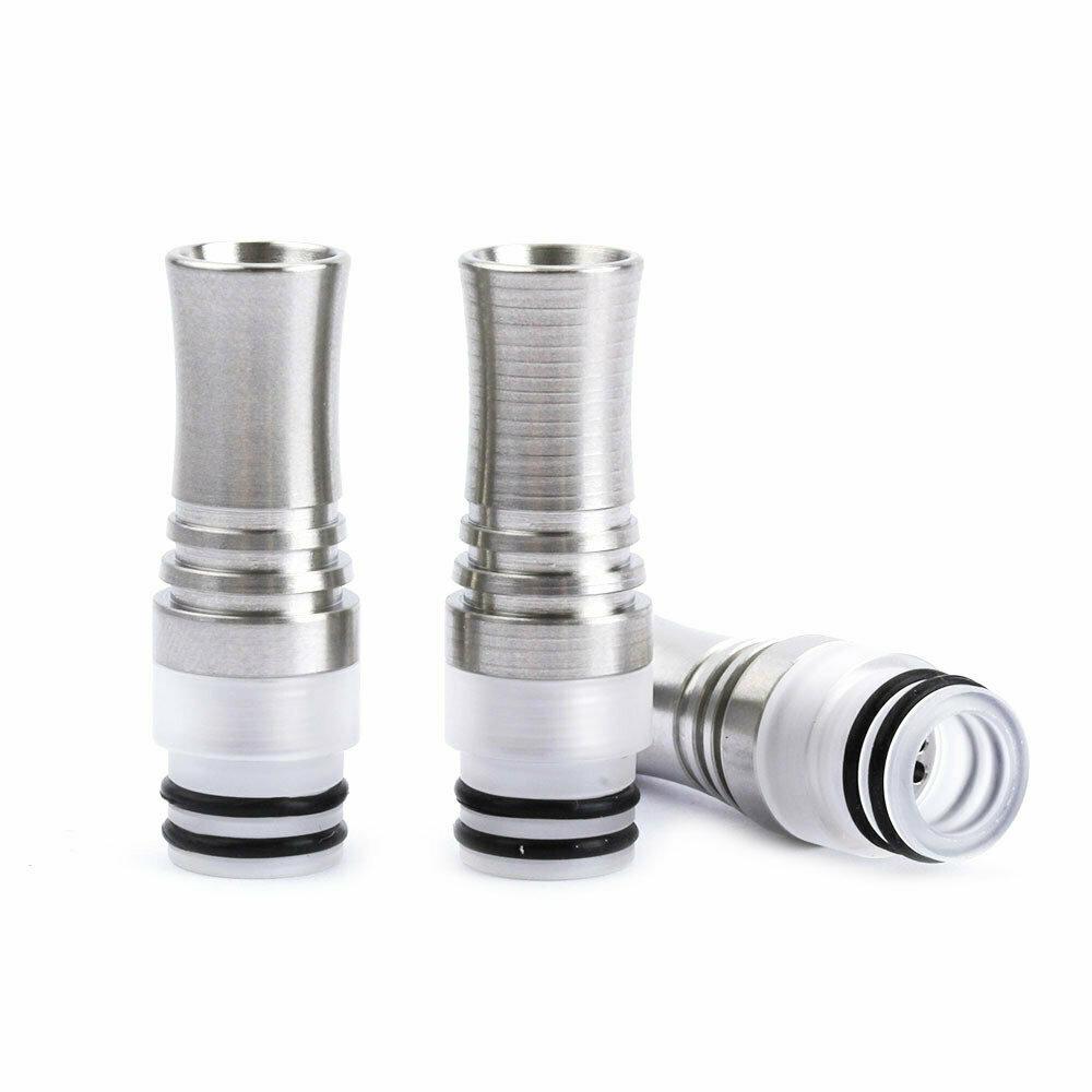 Sıçratmayı Önleyen 9 Delikli Paslanmaz Çelik DripTip