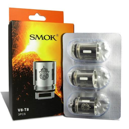Smok V8-T8 Coil (3'lü Paket) %100 Orijinal
