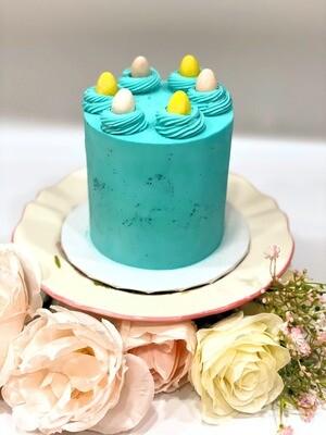 """Mini 4"""" Candy Egg Cake"""