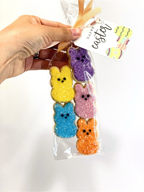 Mini Peeps Sugar Cookies