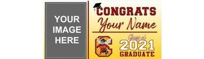 Colton High School Grad Banner