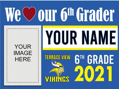 Terrace View Elementary School Yard Sign