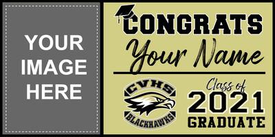 Citrus Valley High School Grad Banner