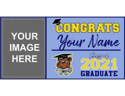 Bloomington High School Grad Banner