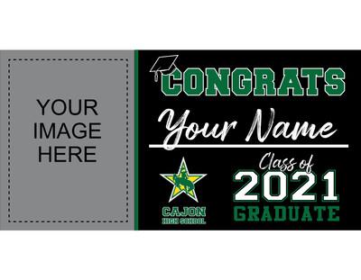 Cajon High School Grad Banner