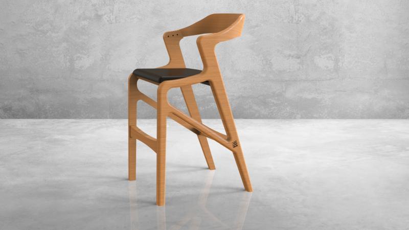 K-1 Bar Chair