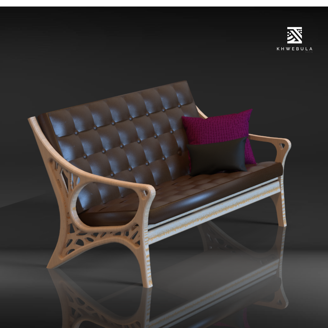 Inkwe 3-Seater Bench