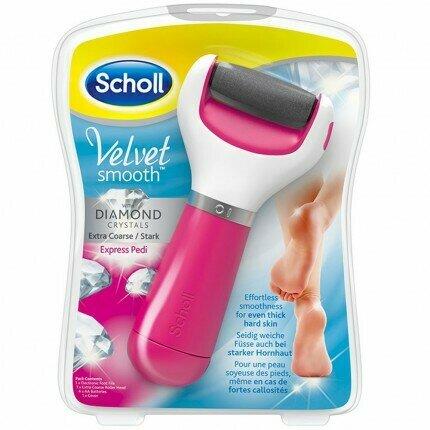 Scholl Velvet Smooth Pink апарат за стругање пети