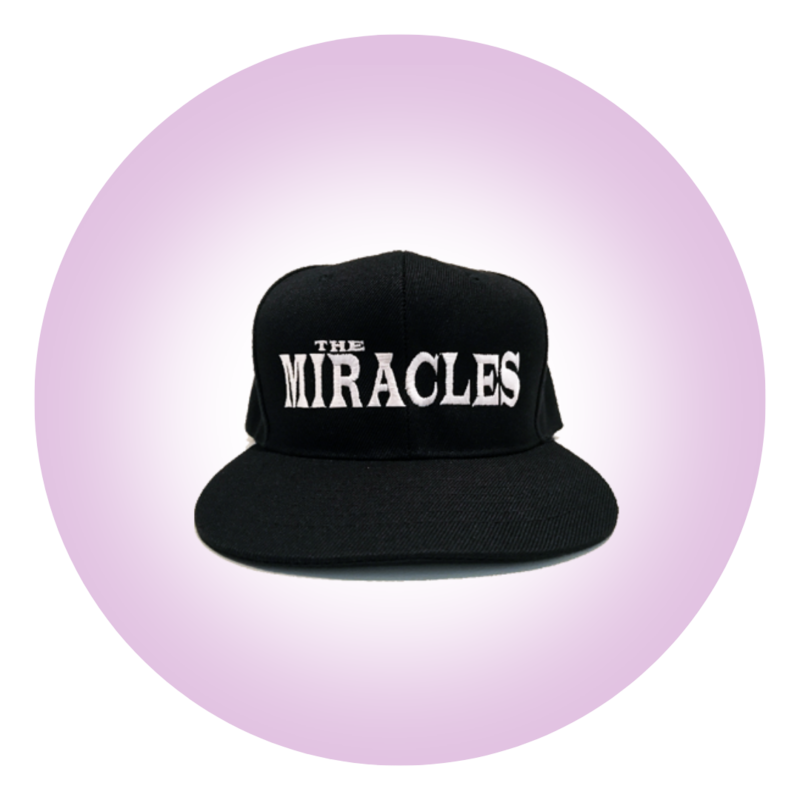 The Miracles Logo Snapback Hat