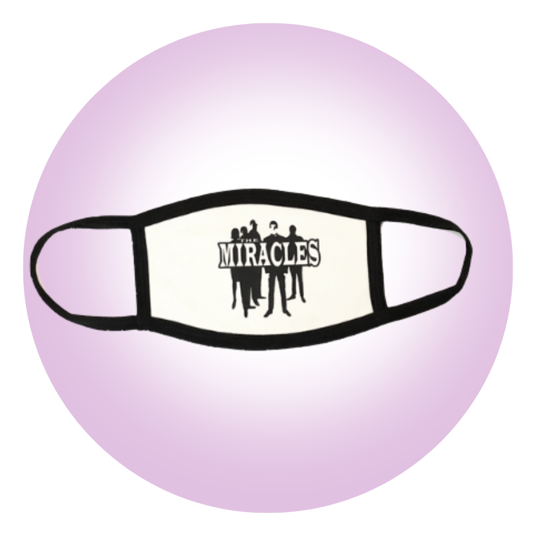 The Miracles Logo Mask White