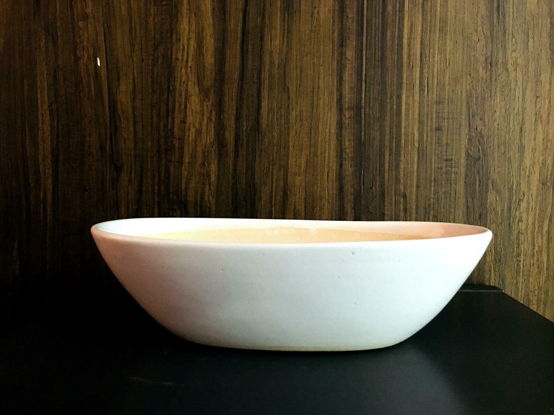 Boat Oval Ceramic Pot