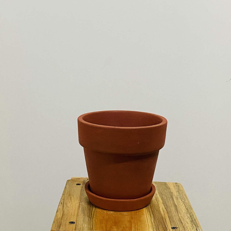 """Terracotta Brown Pot 4"""""""