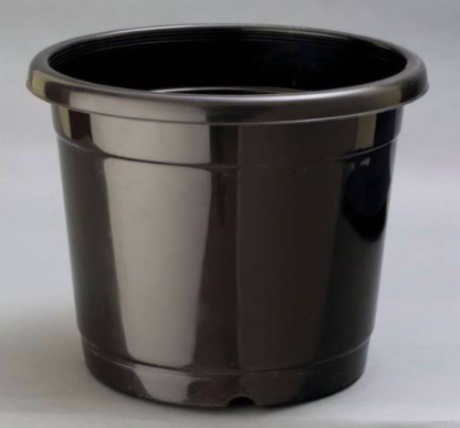Black Nursery Plastic Pot