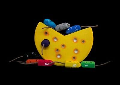 Игровое пособие «Мышки в сыре»