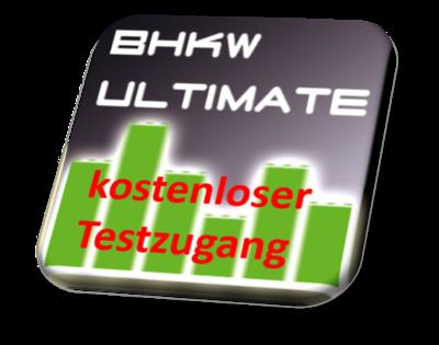 BHKW-Ultimate Arbeitsplatzlizenz Testzugang 14 Tage [kostenlos]
