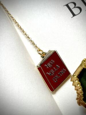 Miss Willa's Metal Bookmark