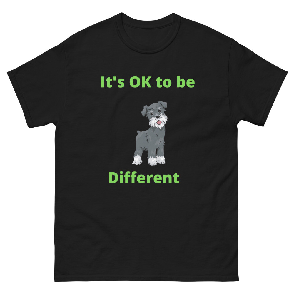 Its OK to be Different Short Sleeve T-Shirt