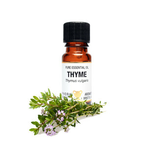 Thyme - Thymus vulgaris.  10 ml Pure Essential Oil