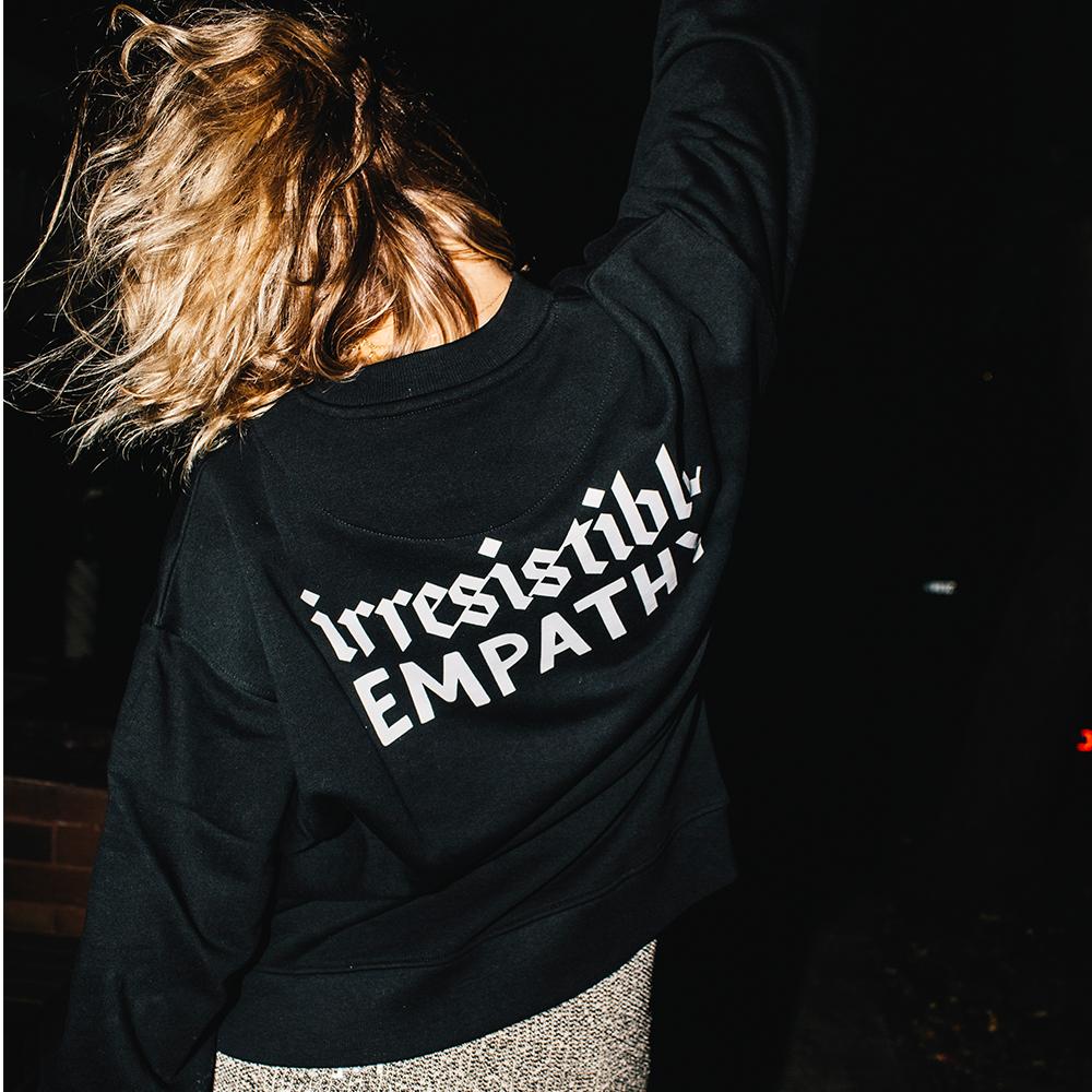 Black Empathy Jumper