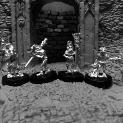 Sorcerer's Minions Household Minions Set