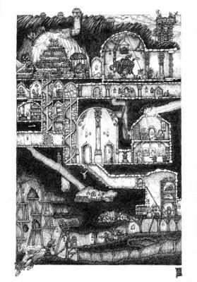 Dwarven Stronghold Annex Poster