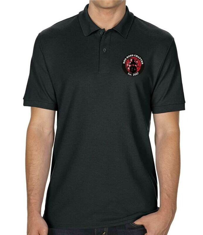 Red Rose Chapter Double Piqué Polo Shirt