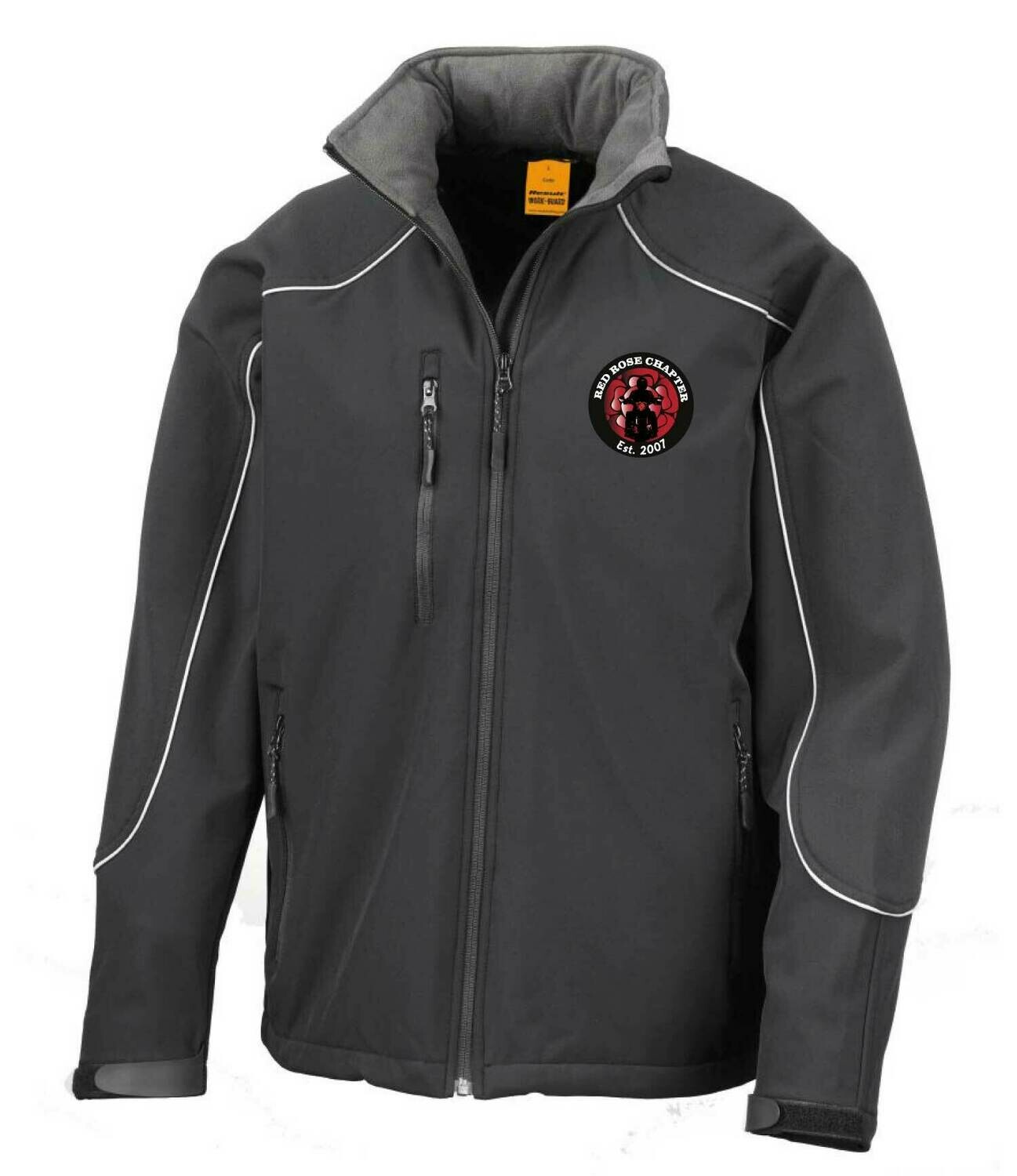 Red Rose Chapter Hooded Soft Shell Jacket