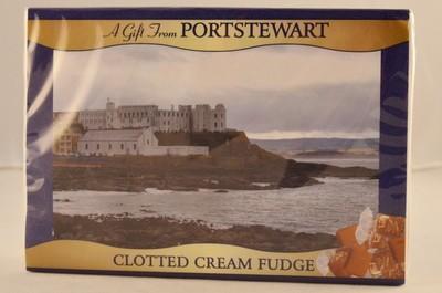 Clotted Cream Fudge Small box -Portstewart Branded