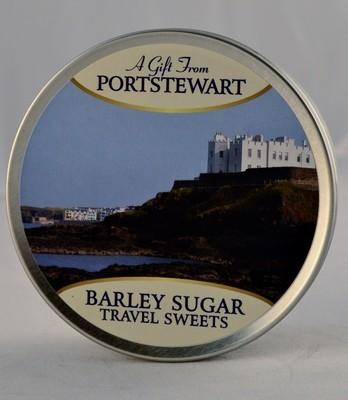 Barley Sugar Travel Tin - Portstewart Branded