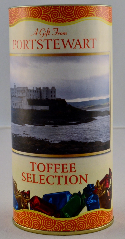 Toffee Selection Drum - Portstewart Branded