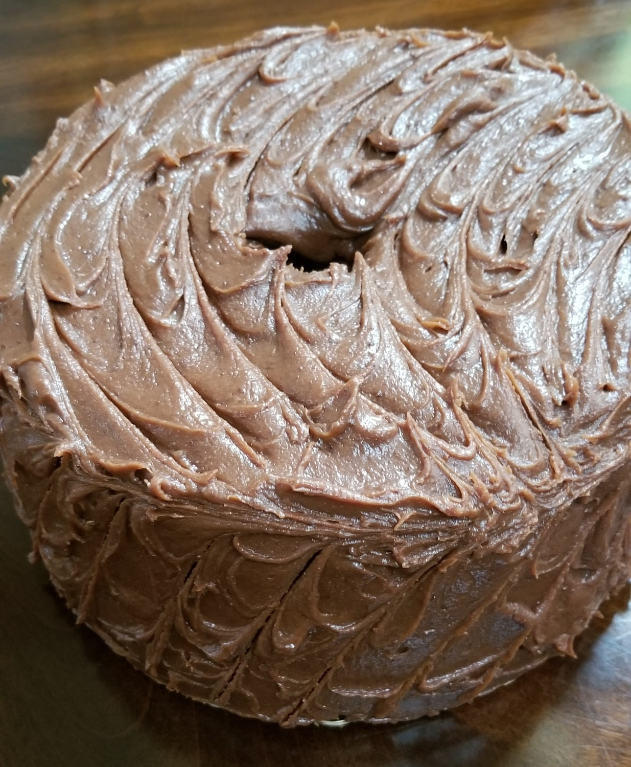 Chocolate Caramel Round OR Loaf (Chocolate Lovers Pound Cake)