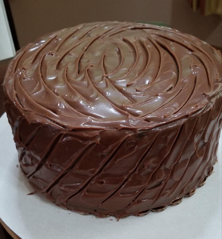 Chocolate Caramel Traditional - Chocolate Lovers Pound Cake