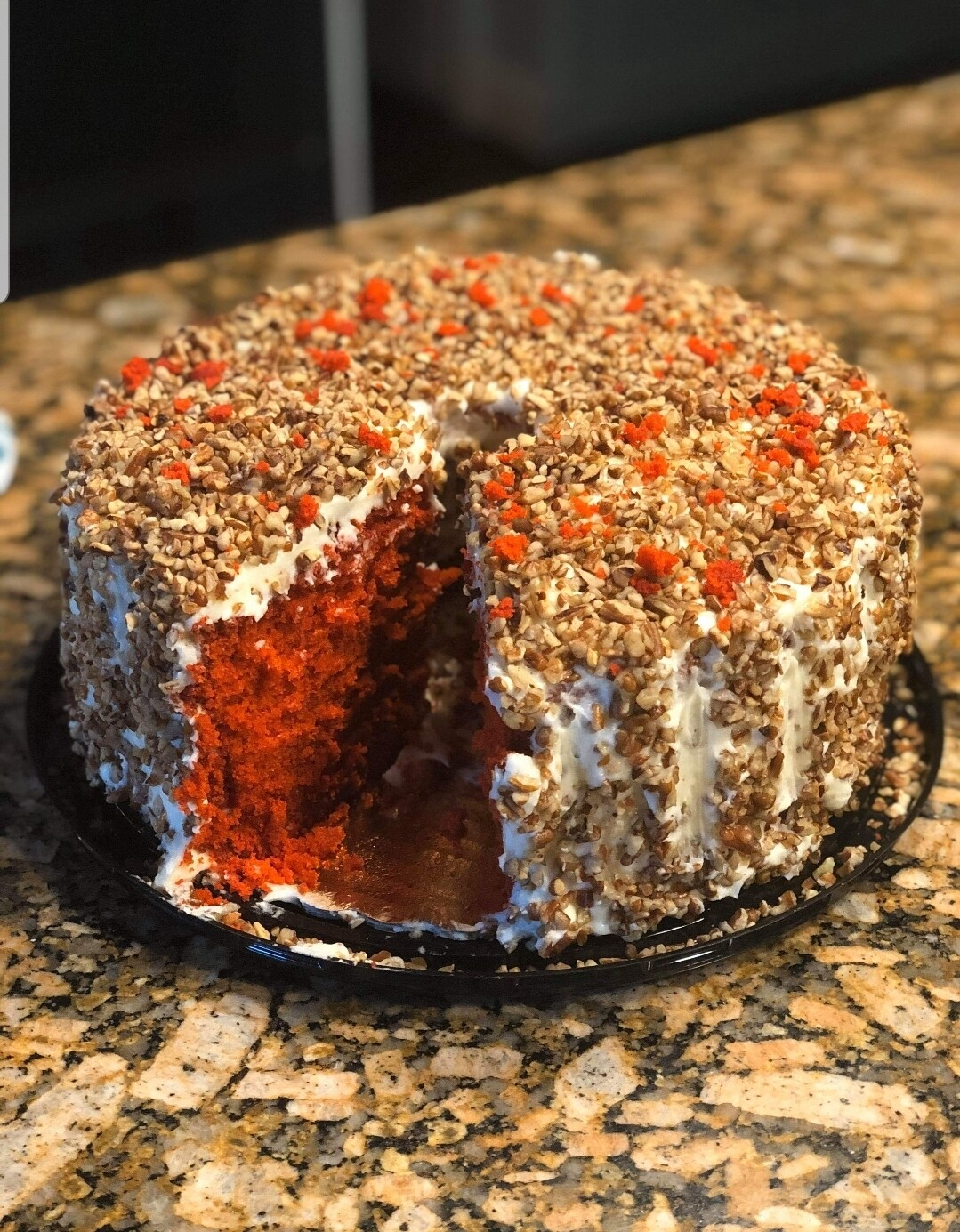Red Velvet Round With or Without Pecans - LOCAL PICK UP ONLY