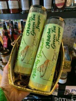 Matcha Green Tea Latte Powder Tube