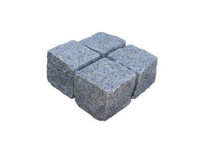 Pavé granit en cube 9x11 - plusieurs coloris