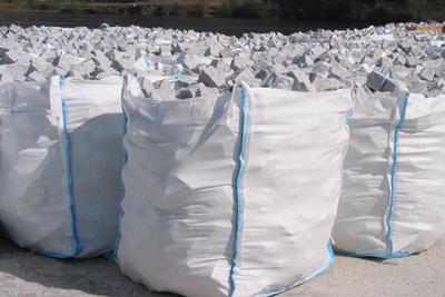 Pavé granit gris clair clivé - 9.10€/m2 HT