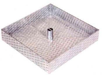 Trappe renforcé (regard) en fer galvanisé à chaud pour pavé