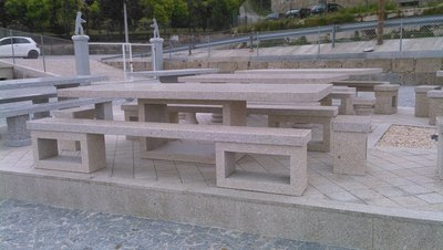 Table en granit Ocean