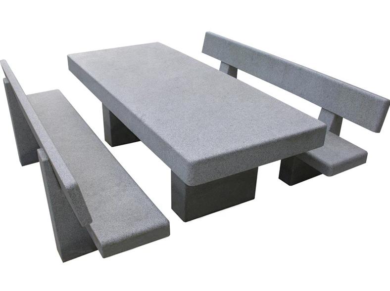 Table en granit Oberna
