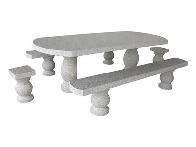 Table en granit Mellera