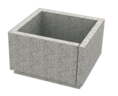 Conteneur en granit Fons