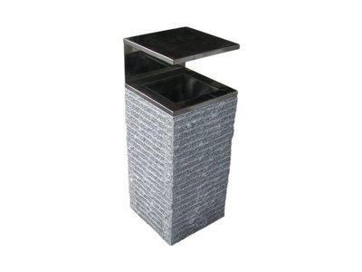Conteneur des ordures en granit Pales